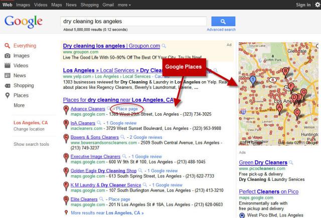 Google Places SEO Los Angeles | Google Maps SEO Los Angeles
